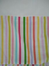 Full Sized Little Mismatched Rainbow Multi Color Bed Skirt