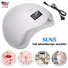SUNUV 48W SUN5 Professional LED UV Nail Light Led Nail Lamp Nail Dryer New