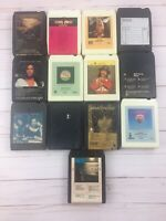 Lot of 13  8-track tapes Art Garfunkel Christopher Cross Neil Young Air Supply