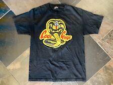The Hundreds Cool Guys Black Shirt Cobra Kai Karate Kid Size L Large