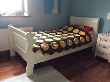 Sleigh cream beds