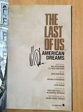 SIGNED - The Last Of Us American Dreams Neil Druckmann Faith Wondercon HC GN
