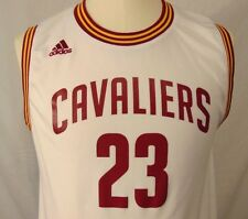 New ListingLeBron James  23 Cleveland Cavaliers NBA Youth Size L 14-16  Adidas Jersey 9b84b41b5