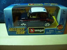 FIAT 500 CARABINIERI 112 1:43 BURAGO SECURITY TEAM ( A16 )