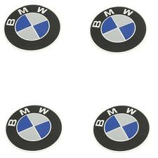 For BMW E30 E34 E36 E39 E60 X5 4 Hub Cap Emblem Stickers 70 mm Diameter