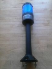 Cutler Hammer Stack Light  black post, blue lens in great condition.