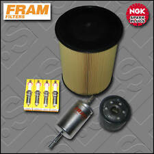 SERVICE KIT VOLVO S40 II 1.6 16V FRAM OIL AIR FUEL FILTERS PLUGS (2007-2012)