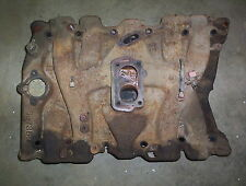 Oldsmobile 425 2 barrel intake manifold cast iron 397357 engine motor part 1967