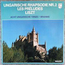 Liszt Hungarian Rhapsody Brahms Hungarian Dances Dorati West Germany Philips