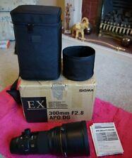 Sigma 300mm f2.8 APO DG EX Sony A-mount