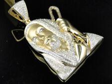 Ketten Black & Blue Jewelry Co.edelstahl .09ctw Original Diamant Genietet Kreuzanhänger