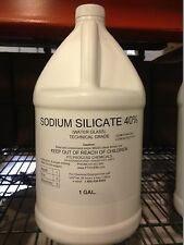 SODIUM SILICATE 40%  (WATER GLASS) 1 GALLON