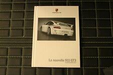 RAR VIP Prospekt/brochure Hardcover Porsche 911 GT3 11/05 französisch 997