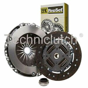LUK 3 PART CLUTCH KIT FOR PEUGEOT 307 ESTATE 1.6 HDI