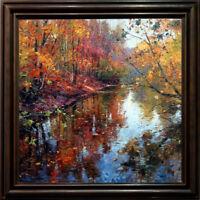 "Hand-painted Original Oil painting art Impressionism landscape on Canvas 30""X30"""