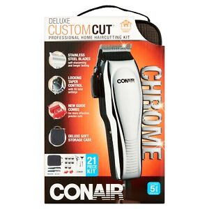 NEW - Conair DeluxeCut 21 Piece Haircutting Kit
