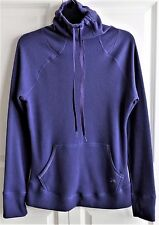 Ladies Under Amour Pullover,Cold Gear,Semi-Fitted,Thumb Holes,Purple-Size Medium