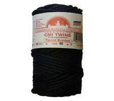 Catahoula No 96 Tarred Braided Bank Line 1 lb Spool 200 ft Nylon Twine