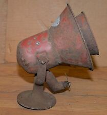 Federal Signal Model L siren fire truck emergency vehicle steam punk industrial