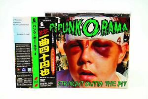 PUNK.O.RAMA 4 ESCA 8013 JAPAN CD OBI A#6963
