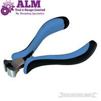Silverline Mini End Cutting Pliers Hand Tools Wire Cable Metal Stripper Cutter
