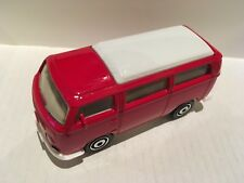 Matchbox Volkswagen Camper Bus 1970  Red in Colour  New