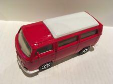 Matchbox Volkswagen Camper Bus 1970 de color rojo NUEVO