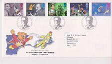 GB Royal mail FDC 1996 Bambini Televisione Televisore Bureau PMK
