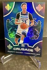 JARRETT CULVER 2019-20 CHRONICLES CRUSADE BLUE PRIZM # /99 ROOKIE MINNESOTA RC