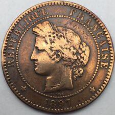 Ceres 10 centimes 1897 A bronze #736
