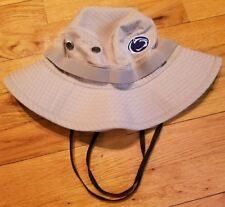 *RARE* NIKE PENN STATE khaki Bucket HAT S/M mens hunting baseball football psu