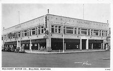 Billings MT Mulvaney Motor Co. Plymouth Dodge Dealership Postcard