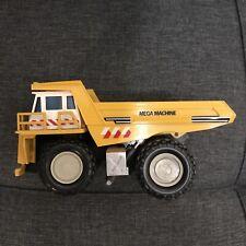 "Mega Machine Yellow Toy Dump Truck - Metal/Plastic 6"" Long COMBINE SHIP ANY ITEM"