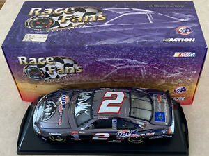 1/24 Autographed Signed Color Chrome Rusty Wallace Goo Goo Dolls #2 Diecast