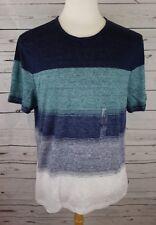 NEW Michael Kors Men's Multi-Color T-Shirt Midnight Summer Large MSRP $98.00
