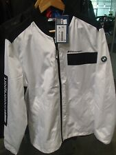BMW Motorsport jacket men's White Genuine XXL 80142461120