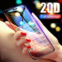 For iPhone 11 Pro Max Xs 10D Curved Edge Tempered Glass Screen Protector Film