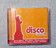 "CD AUDI / VARIOUS ""DISCO VOLUME"" CD COMPILATION 17T 2000 BARRY WHITE/ BEE GEES.."