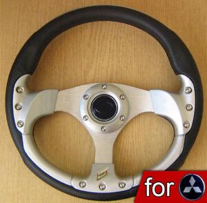 Sports Steering Wheel for Mitsubishi FTO GTO Lancer Galant Pajero Shogun 3000GT