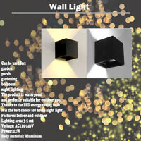 Wall Light 12W DIY Up Down garden porch LED Warm/White Sconces Light indoor