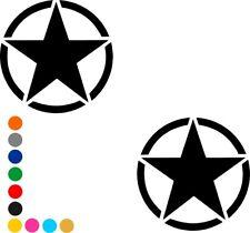 US Army Stern Aufkleber Retro Oldschool US Star Fun Kult Sticker