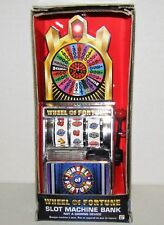 Wheel Of Fortune Slot Machine Bank 2014 Forum Novelties NEW