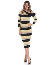 Vestito Liu Jo Dress MADE IN ITALY Donna Nero Z18021MA56G 4834