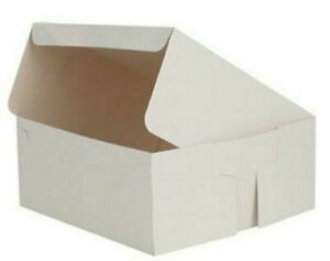 Cake Boxes Cupcake Box Fold Flat Cardboard