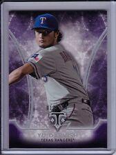 Yu Darvish 2015 Topps Triple Threads Amethyst Base Parallel #'d /354 Purple Card