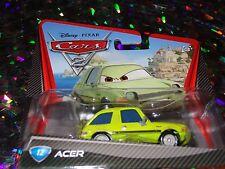 """DISNEY PIXAR CARS """"ACER"""" Die-Cast Metal, Scale 1:55, NEW, Mattel"""