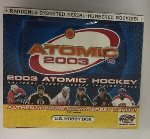 2002-03 Pacific Atomic Hobby Hockey Box Factory Sealed 20 Pack