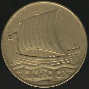 Estonia Coin 1934 1 Kroon