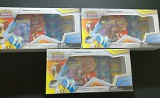 24 HOURS AUCTION- 3x Legends of Johto Pin Collection Pokemon Cards SEALED-NEW