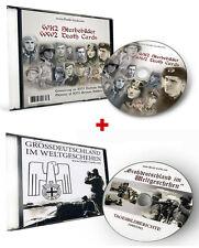 WK2 DOPPEL CD - STERBEBILD CD +  FOTO CD GROSSDEUTSCHLAND IM WELTGESCHEHEN